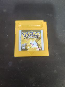 Pokemon Yellow Version for Sale in Hacienda Heights, CA