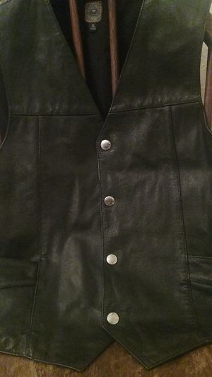 XL Leather Vest Motorcycle Gear for Sale in Katy, TX