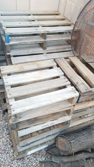 Wood pallets for Sale in Mesa, AZ