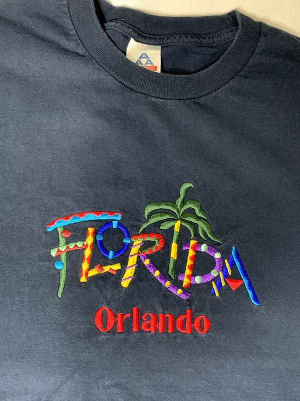 Vintage Embroidered Florida Tee