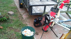 His and Her golf clubs and a lot of balls for Sale in Powder Springs, GA