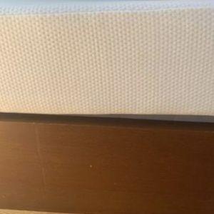 "10"" Med/Plush Memory foam mattress (smoke free/pet free Home) for Sale in Attleboro, MA"