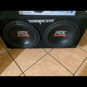 """2 12"""" brand New Mtx Subwoofers for Sale in Selma, CA"""