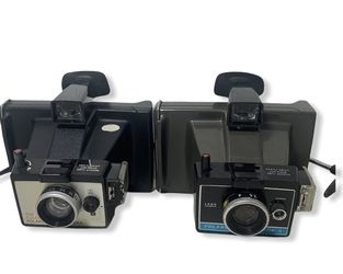 2x Vintage Polaroid Colorpack II and Colorpack Land Cameras for Sale in Portland,  OR