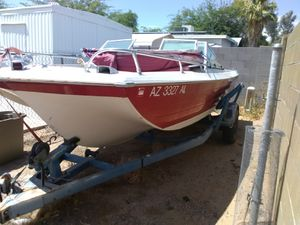 1972 crestliner bow rider fish and ski boat for Sale in Mesa, AZ