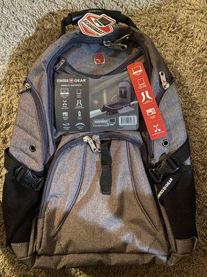 SwissGear 1900 Scansmart TSA Laptop Backpack - Grey Heather for Sale in Menifee, CA