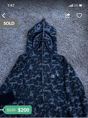Bape jacket for Sale in Crowley, TX
