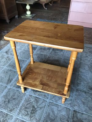 """Wood plant stand $30 18x13x24"""" for Sale in San Diego, CA"""