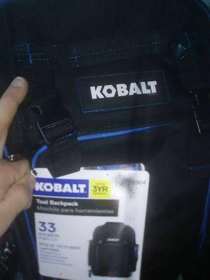 Kobalt laptop safe back pack snap on for Sale in Gastonia, NC