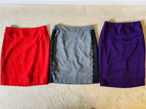 3 above-knee pencil skirts for Sale in Troy, MI