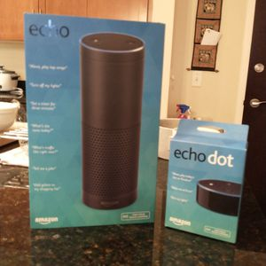 Amazon Echo and Echo Dot for Sale in Falls Church, VA