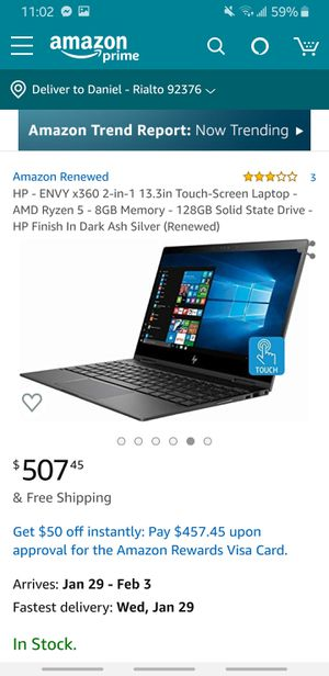 HP Envy x360 13 in (OBO) for Sale in Bloomington, CA