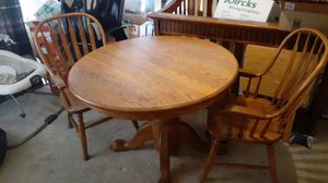 Wooden table w/ 2 chairs for Sale in Phoenix, AZ