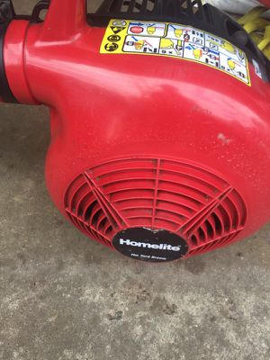 Homelite gas leaf blower. In a great condition for Sale in Waterford Township, MI