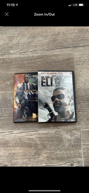 Denzel Washington DVD's for Sale in East Providence, RI
