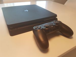 PS4 Slim 500 gb. With 1 controllers & 2 games for Sale in Charlotte, NC