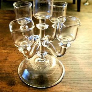 Glass Candle Holder for Sale in Southfield, MI