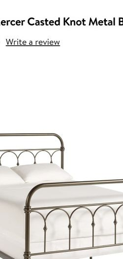 Queen Size Box Spring Bed Frame for Sale in Eastlake,  OH