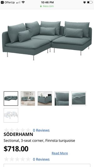 Sectional Couch- Ikea Soderhamn (4piece) for Sale in Phoenix, AZ