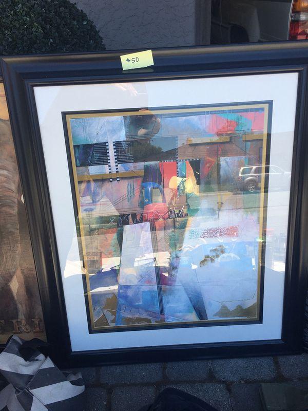 Framed Modern Art