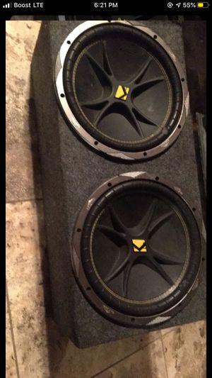 2 12inch speakers kickers for Sale in Bakersfield, CA