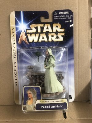 Star Wars, Saga Collection Action Figure, Padme Amidala Secret Ceremony, 3.75 Inches for Sale in Lake Stevens, WA