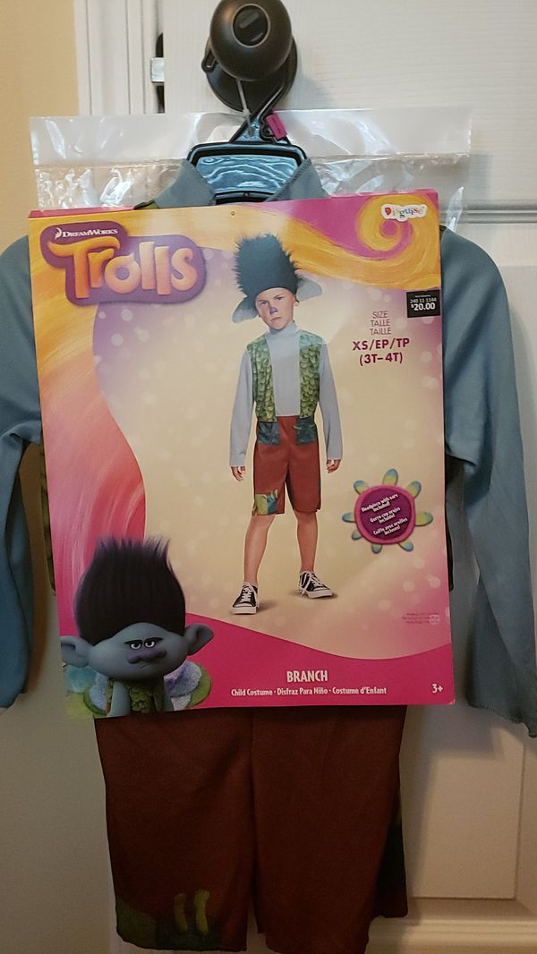 Trolls (Branch), Halloween Costume