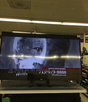55 inch TLC roku tv for Sale in Houston, TX