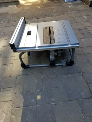 Skilsaw table saw for Sale in Richmond, CA