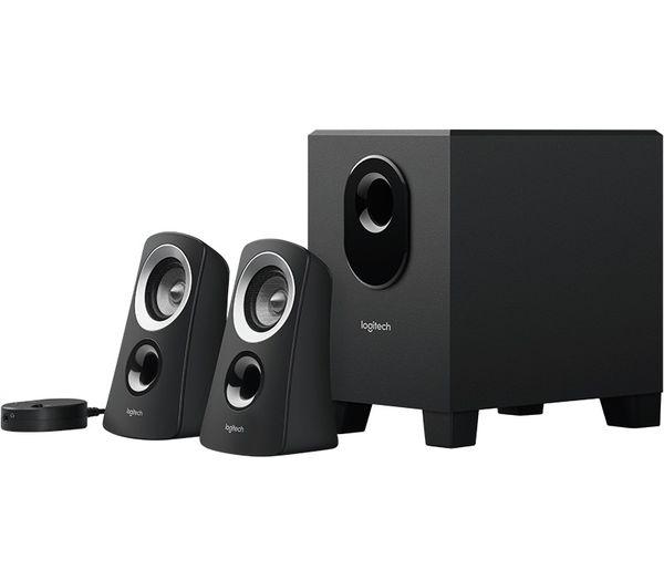 Logitech Z313 Speaker system with subwoofer- LIKE NEW