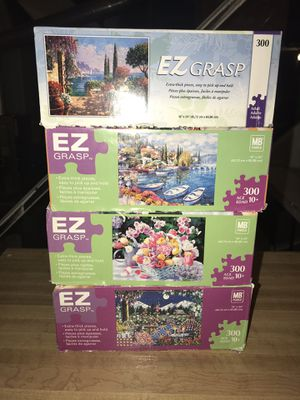 EZ grasp 300 piece puzzles for Sale in Stow, OH