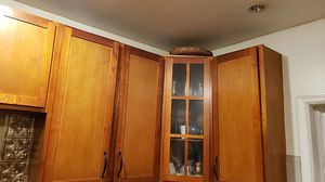 Tall wall kitchen cabinets for Sale in Jersey City, NJ