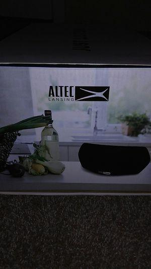 Portable WiFi Speaker ALTEC LANSING: SmartStream X for Sale in San Antonio, TX