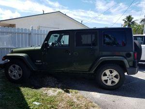 2008 Jeep Wrangler for Sale in Dania Beach, FL