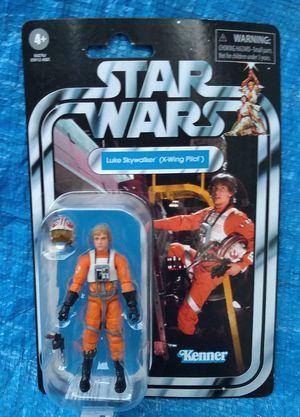 Star Wars Vintage Collection Luke Skywalker X-Wing Pilot Action Figure MOC MIP VC158 Kenner Hasbro for Sale in Pasadena, CA
