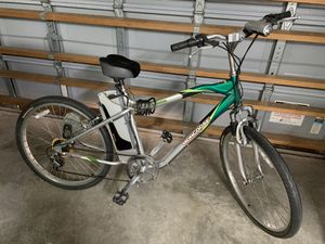 Electric bike mongoose with new battery for Sale in Pembroke Pines, FL