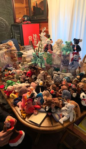 Beanie babies over 150 (from 93'-2005) for Sale in Seattle, WA