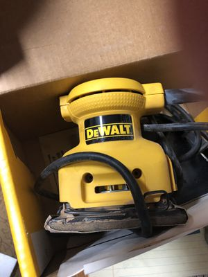 DeWalt Hand Held Sander for Sale in CHRISTIANSBRG, VA