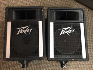 "Peavey 110H Pro Audio 10"" Woofer 2-Way Speakers Monitor Pair for Sale in Newington, CT"