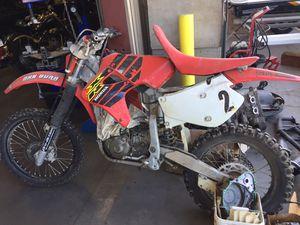 PARTING OUT Honda 2000 XR650R Fuel Gas Tank Wheel Rim Stator CDI Igniter Crankshaft Forks Shock Brake Dirtbike for Sale in Fontana, CA