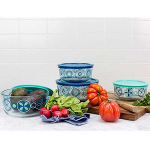 Pyrex 4-piece Decorated Food Storage Set $17.99 for Sale in Rosemead, CA