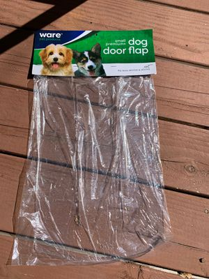 Ware pet dog canine dog house premium door plastic flap small for Sale in Alpine, CA