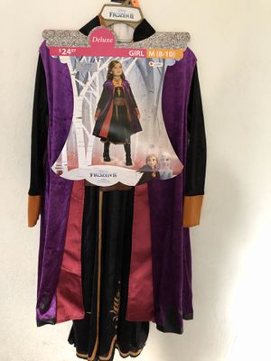 Princess Anna Costume size Medium for Sale in Sanger, CA