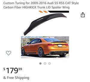 Audi s5 spoiler carbon fiber for Sale in Miami Beach, FL