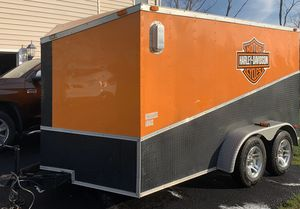 2012 6X12 Harley Davidson enclosed trailer for Sale in Chantilly, VA