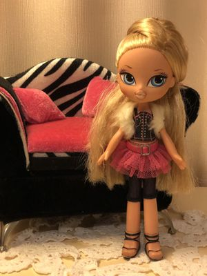 Girlz Girl Bratz Kidz Cloe Doll Blonde Hair Blue Eyes Clothes Shoes for Sale in Anaheim, CA