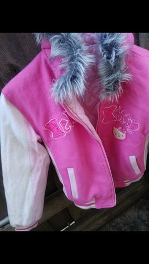 Reversible hello kitty winter jacket size small - med $60 for Sale in Mesquite, TX