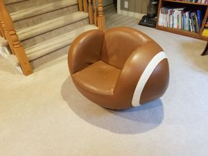 Kids football shaped chair for Sale in Millcreek, UT