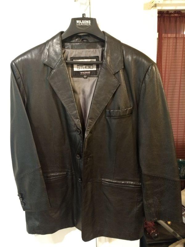 Men's Black Real Leather Jacket