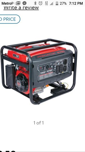 Predetor 8750 Max Generator for Sale in Avondale, AZ